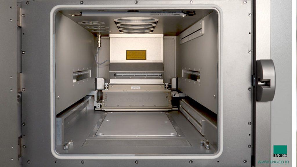 پرینتر سه بعدی SLM نمای داخل اتاق